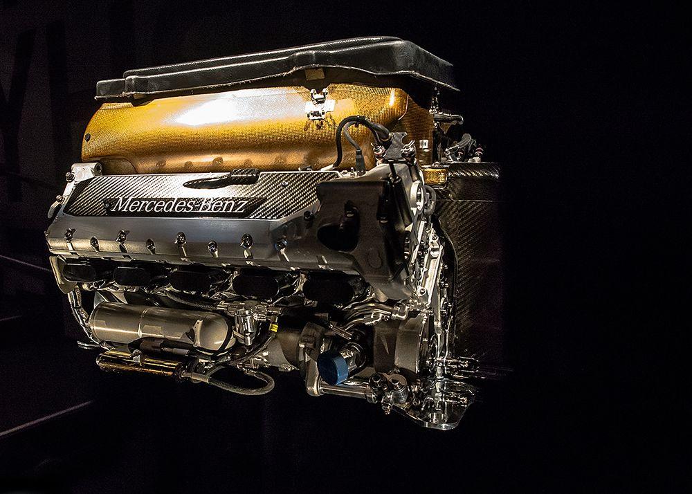 Formel 1 Motor McLaren MP-4