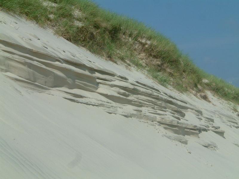 Formen in den Dünen