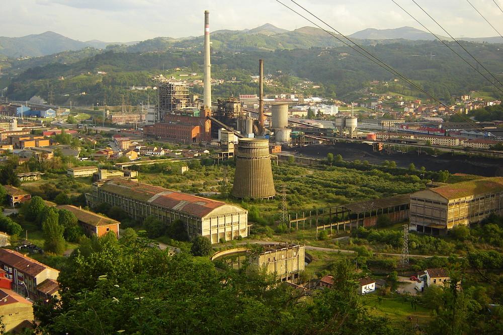 Former Ammonia plant; Asturias - Northern Spain