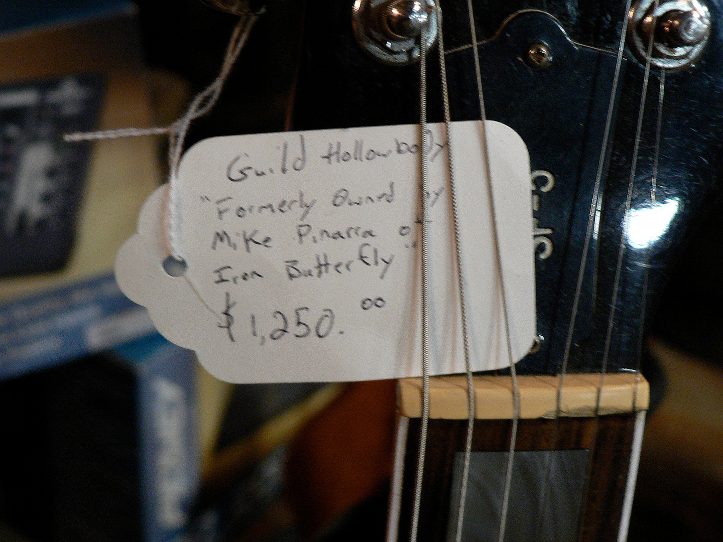 Formerly owned by Iron Butterfly !