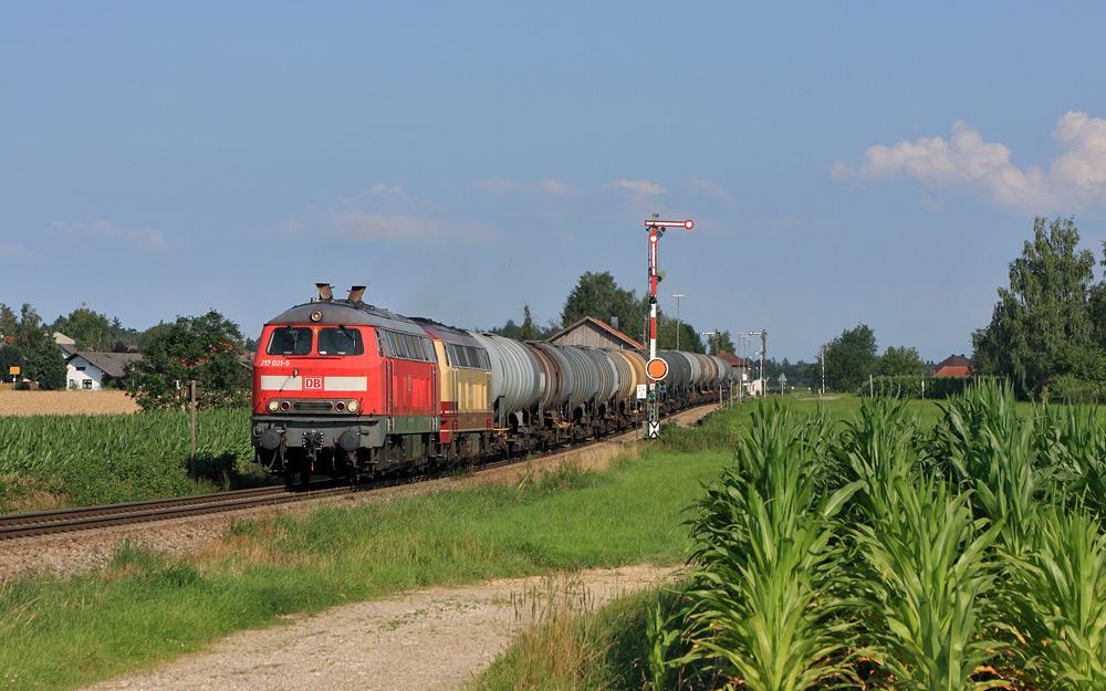 Formsignal - Pirach - Blondine - Güterzug