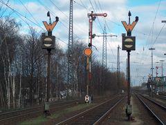Formsignale in Oberhausen West