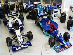Formules 1 au musée de l'automobile de Sinsheim