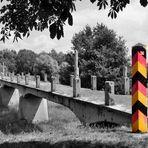 Forst / Lausitz: Brücke über die Neiße, 1945 zerstört