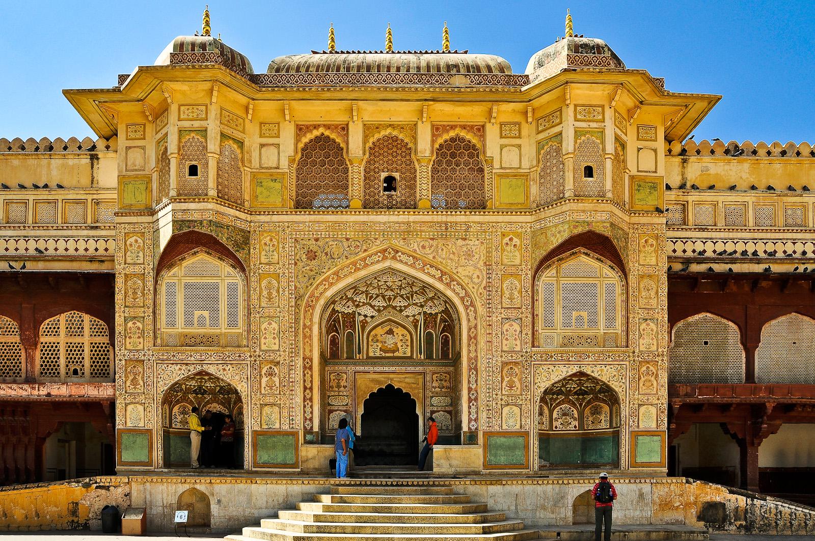 Fort Amber bei Jaipur in Rajasthan