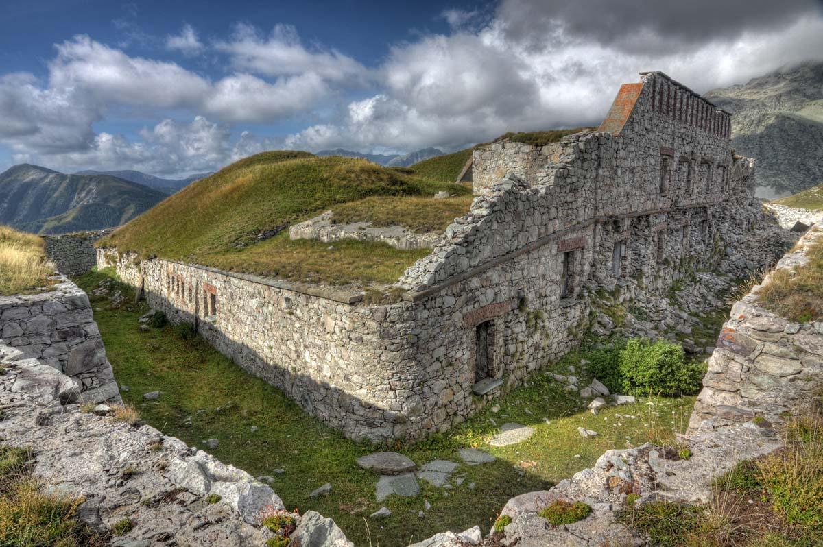 Fort Pernante am Col de Tende
