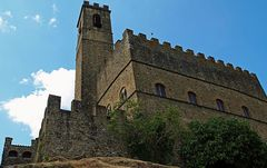 forteresse medievale de poppi, pres arezzo