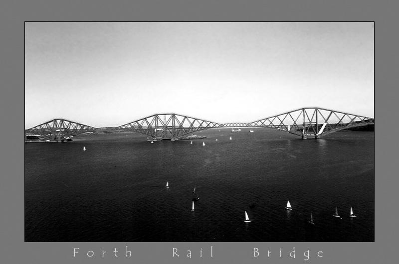 Forth Rail Bridge - SW
