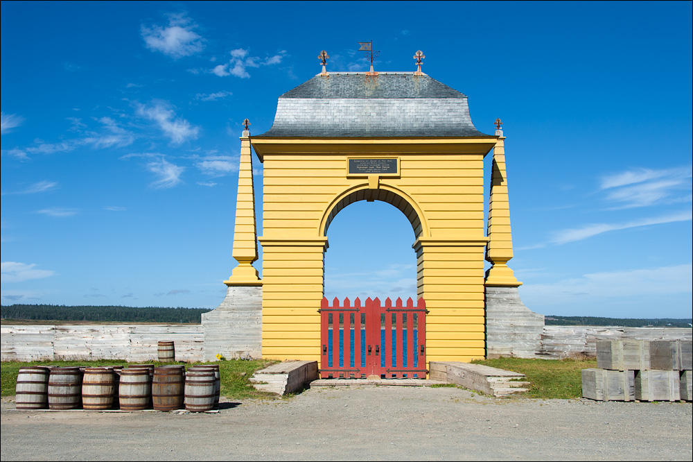 [ Fortress of Louisbourg ]