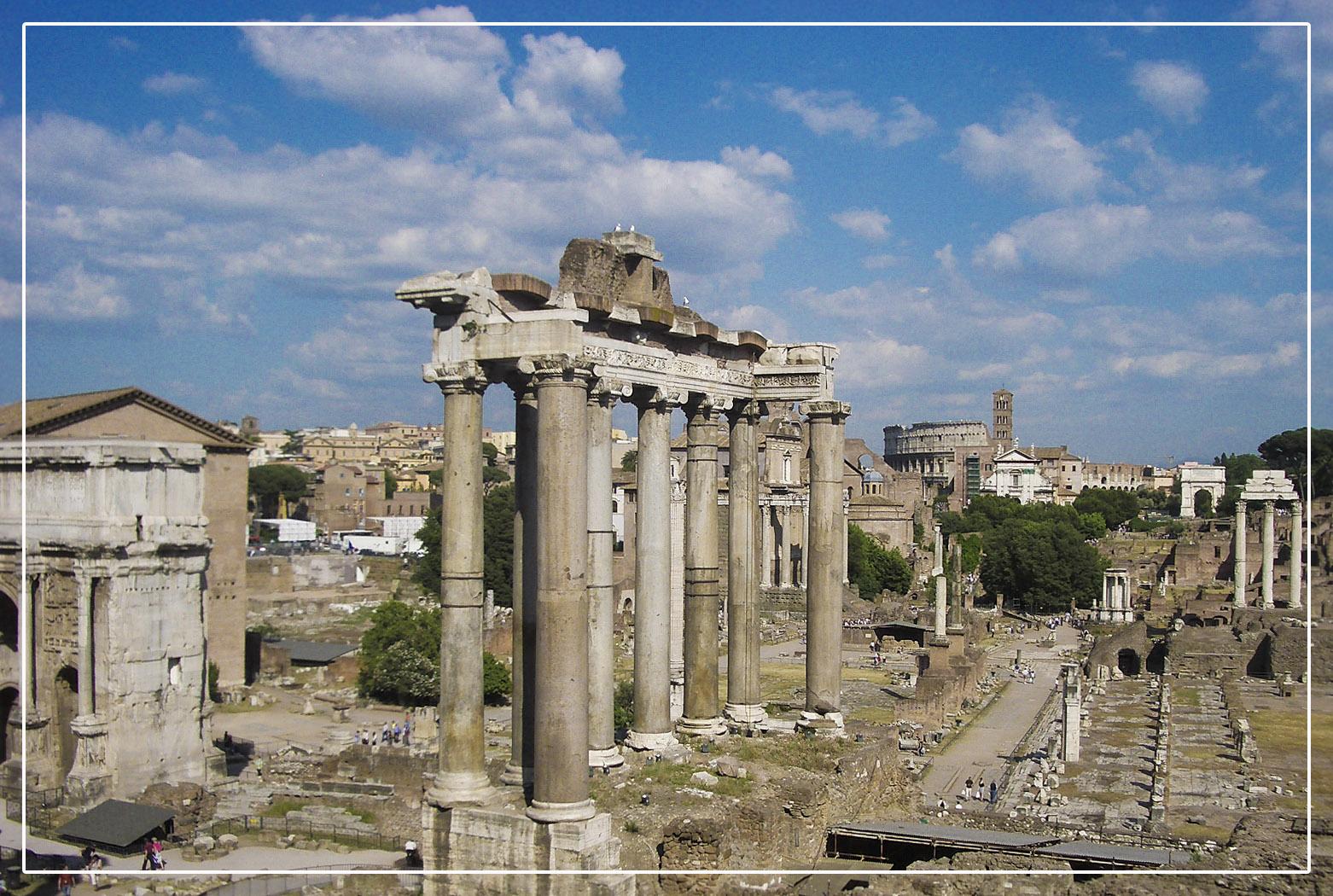 Forum Romanum - Rom