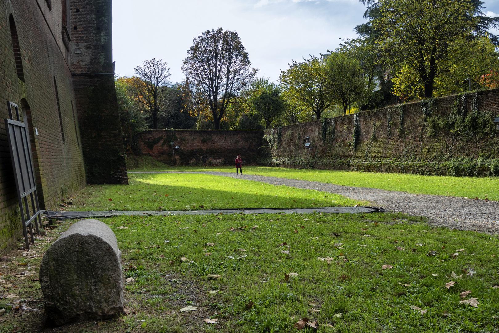 Fossato del Castello Visconteo di Pavia