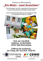 """- Foto-Ausstellung """"Ein Motiv - zwei Ansichten"""" -"""
