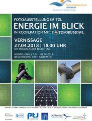 """- Foto-Ausstellung """"Energie im Blick"""" in Lichtenau -"""