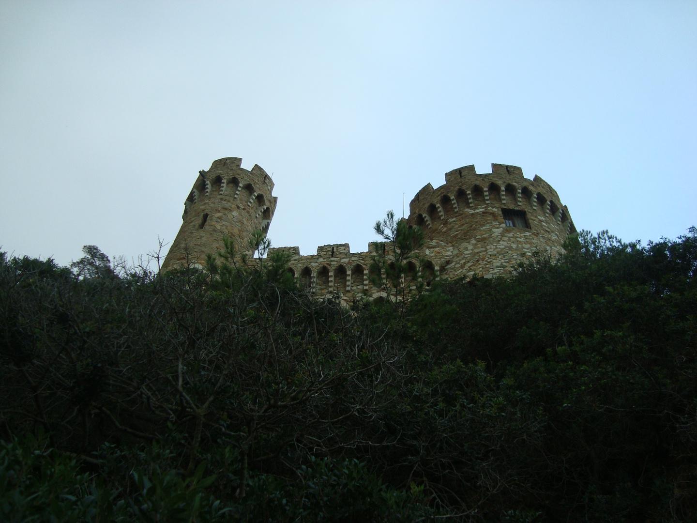 Foto del Castillo des de el camino de ronda LLoret de Mar