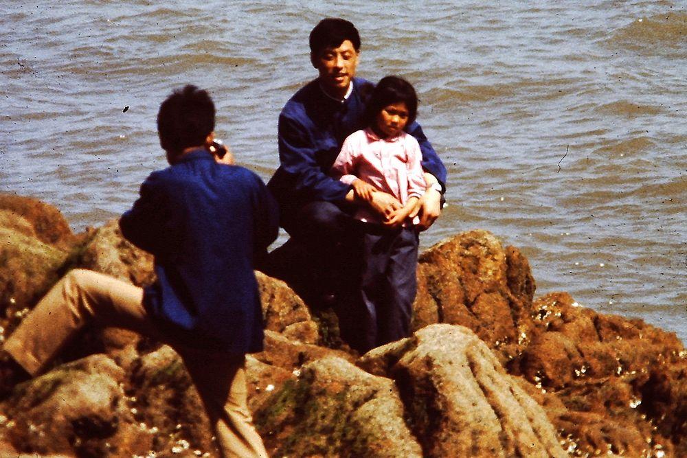 Foto mit Töchterchen
