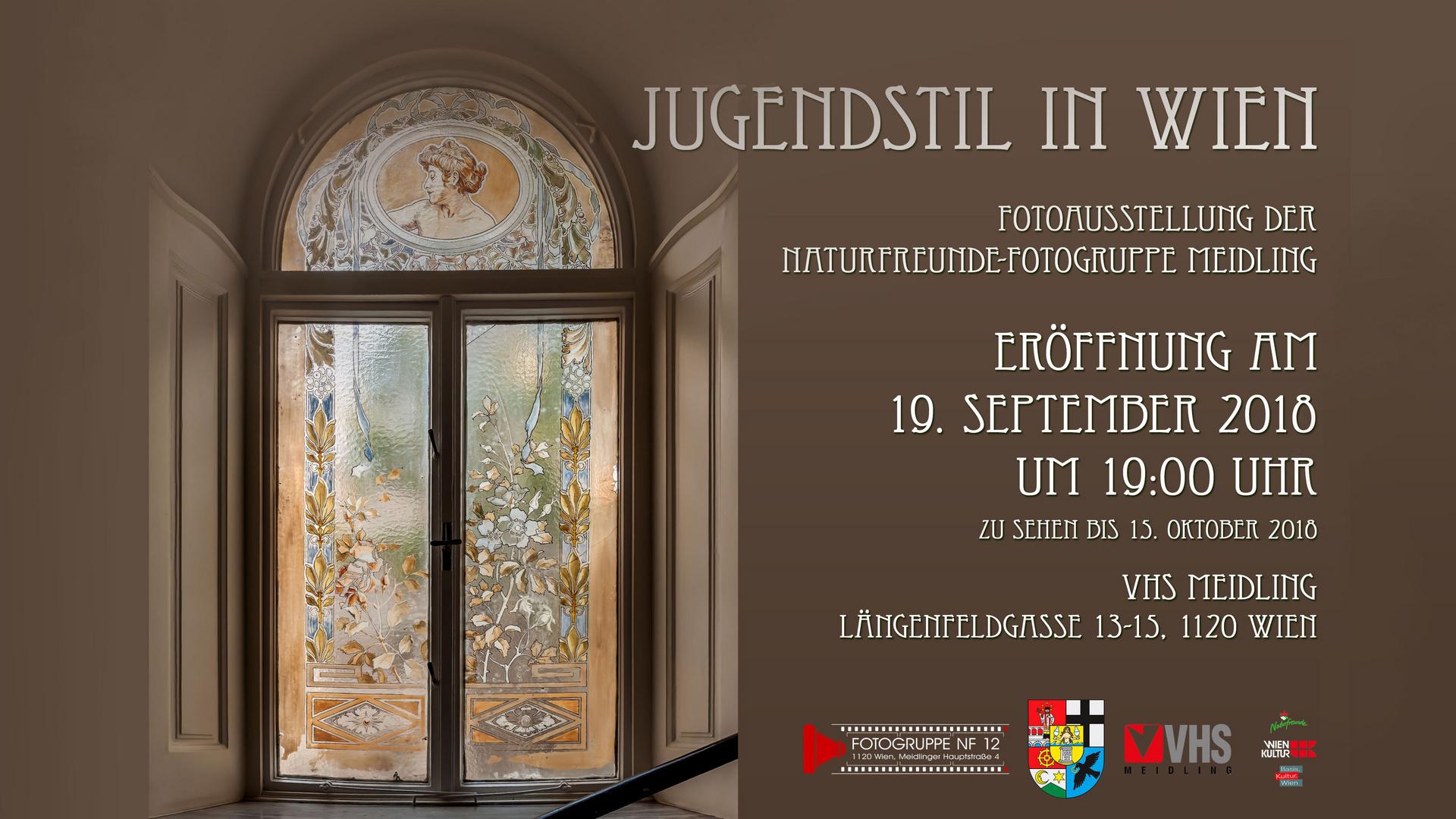 Fotoausstellung-Jugendstil in Wien