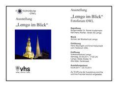"""Fotoausstellung """"Lemgo im Blick"""""""