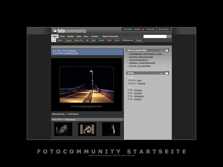 Fotocommunity Startseite