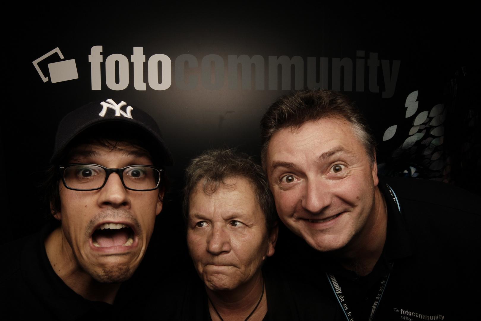 fotocommunity-Team in der Booth
