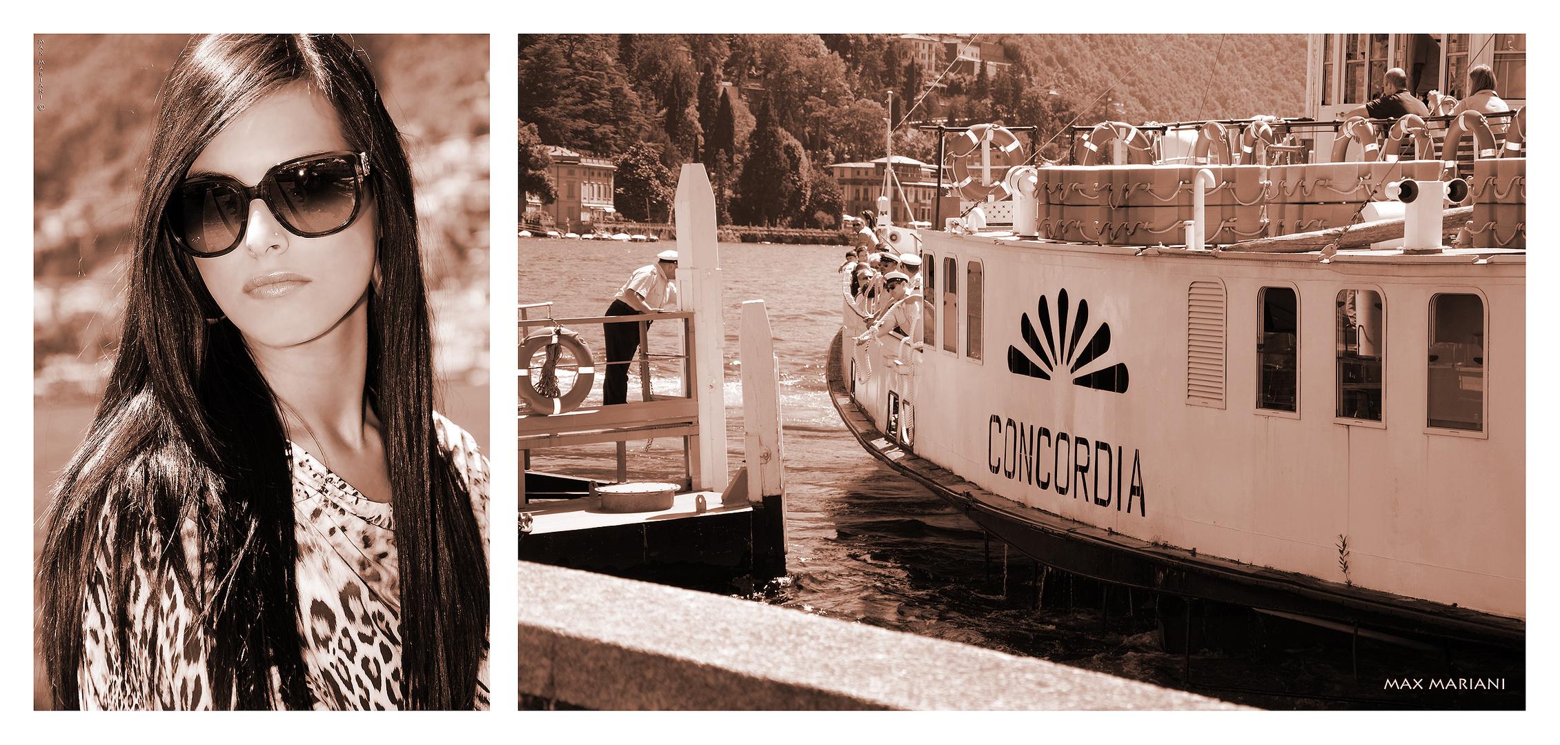 """fotocomposit ! con Alessia Ziliotti Ritratti dalla serie """"Torno"""""""