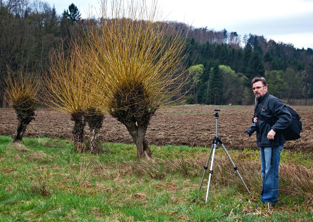 Fotofreund mit alten Weiden!