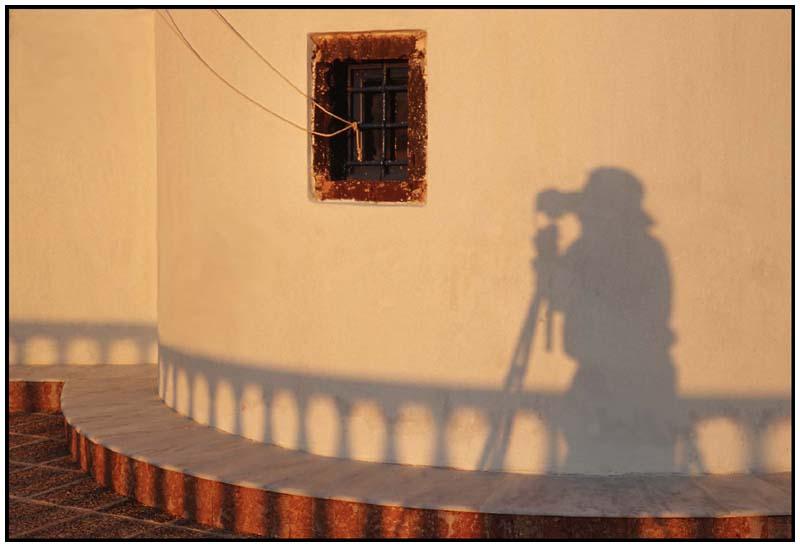 Fotograf an der Arbeit
