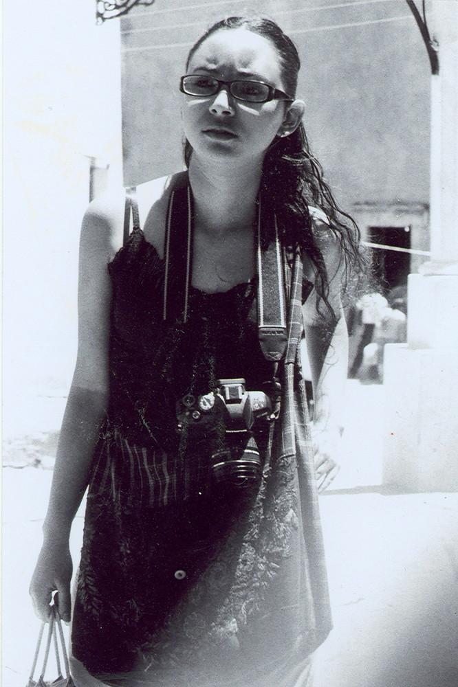Fotografa fotografeada