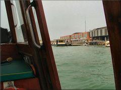Fotografando dalla barca