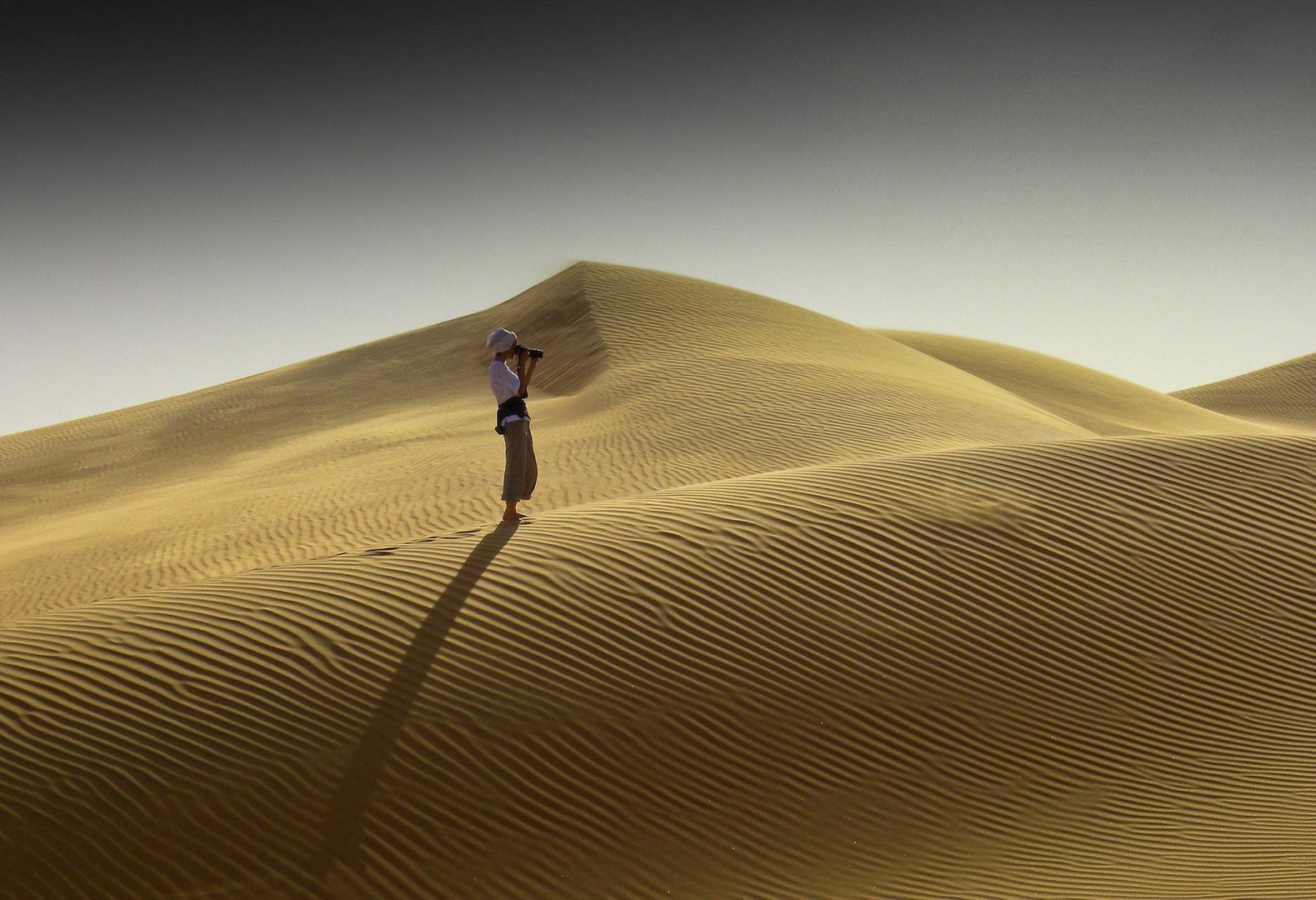 Fotografare il deserto.....................