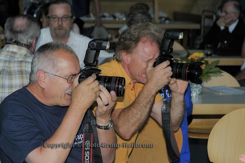 Fotografen in action