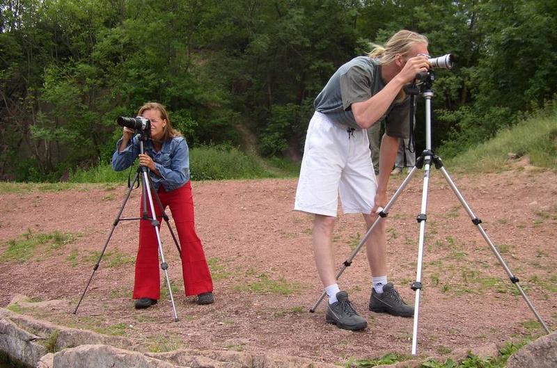 Fotografen unter sich (bzw. mit sich)...