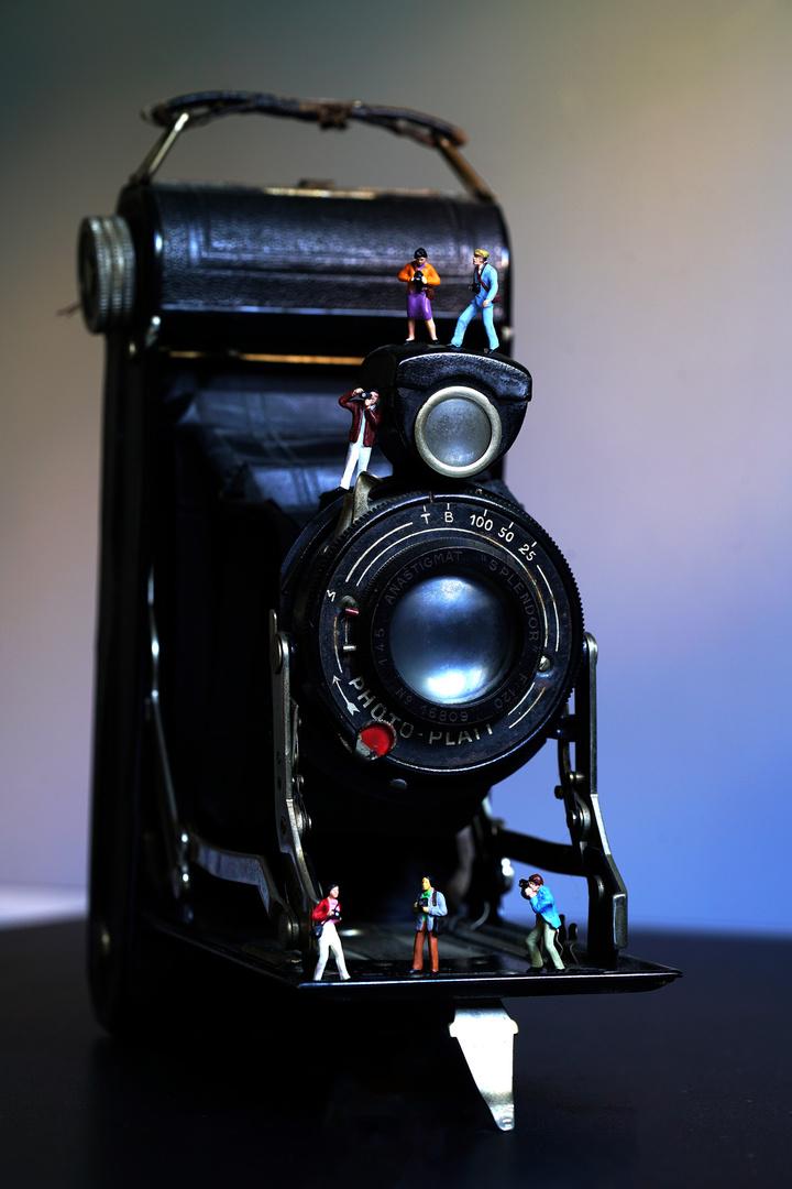 Fotografen unterwegs