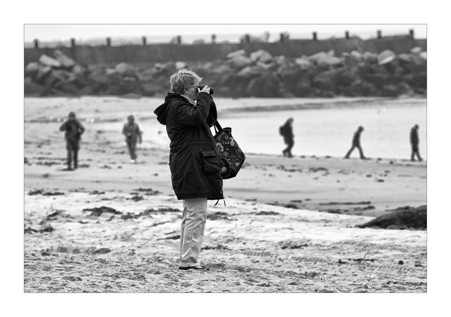 Fotografieren am Strand