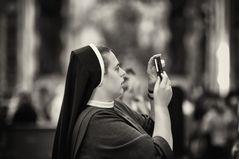 Fotografieren im Petersdom