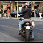 Fotografo motorizzato