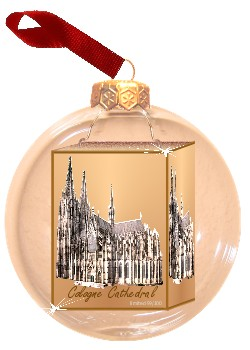 Christbaumkugeln Köln.Fotokugel Mit Foto Vom Kölner Dom Christbaumkugel Mit Foto