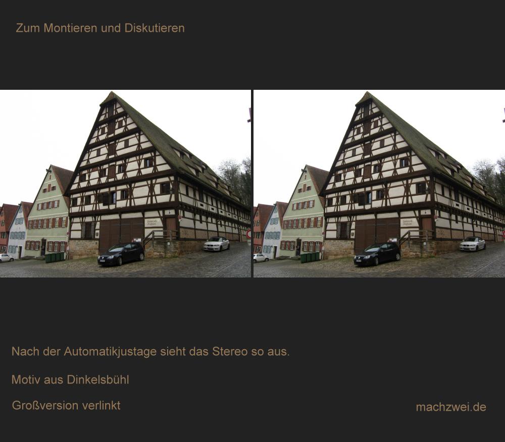 Fotomontage in 3D + Besprechung an Beispielen