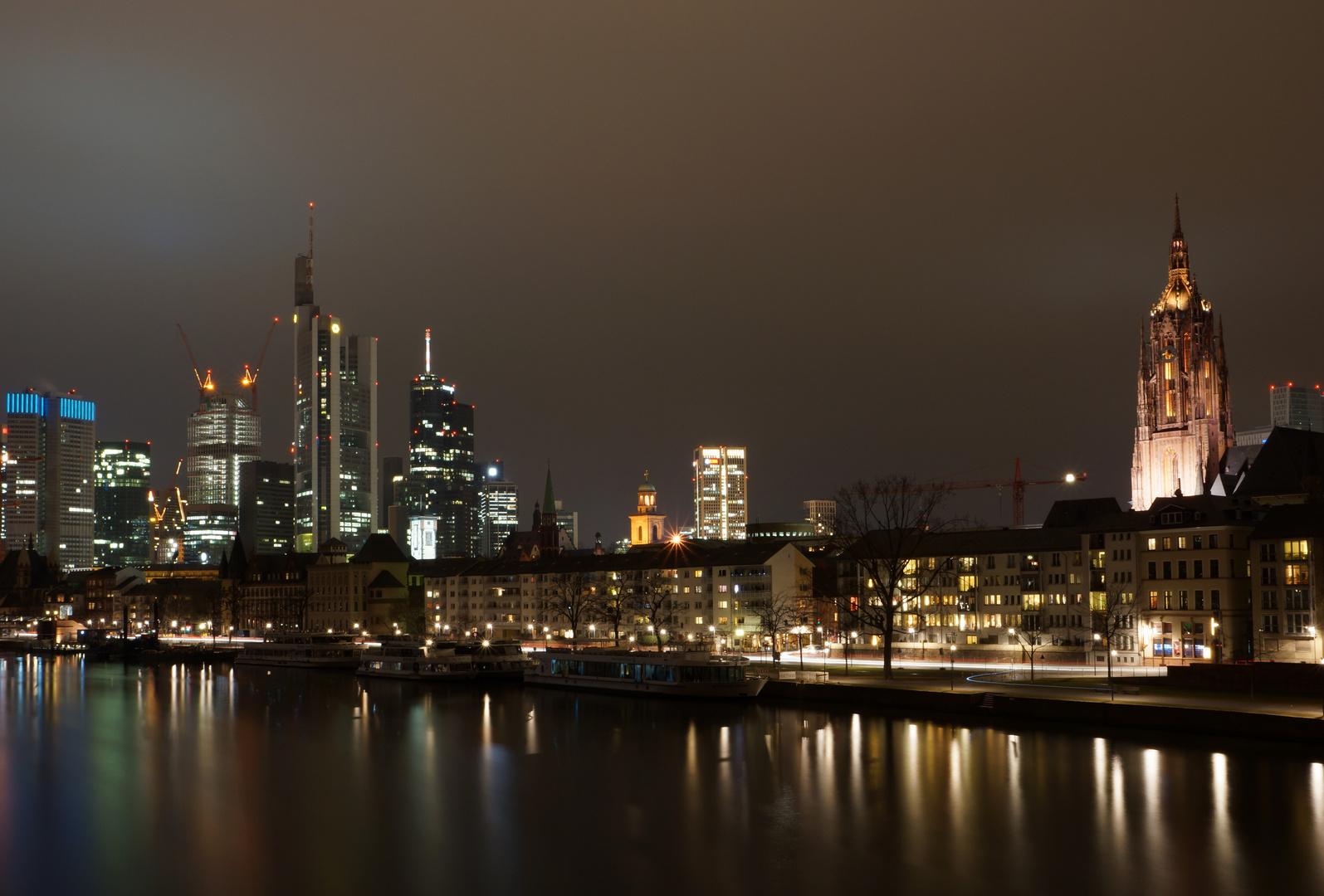 Fotopraxis - Frankfurt a. M. bei Nacht 2