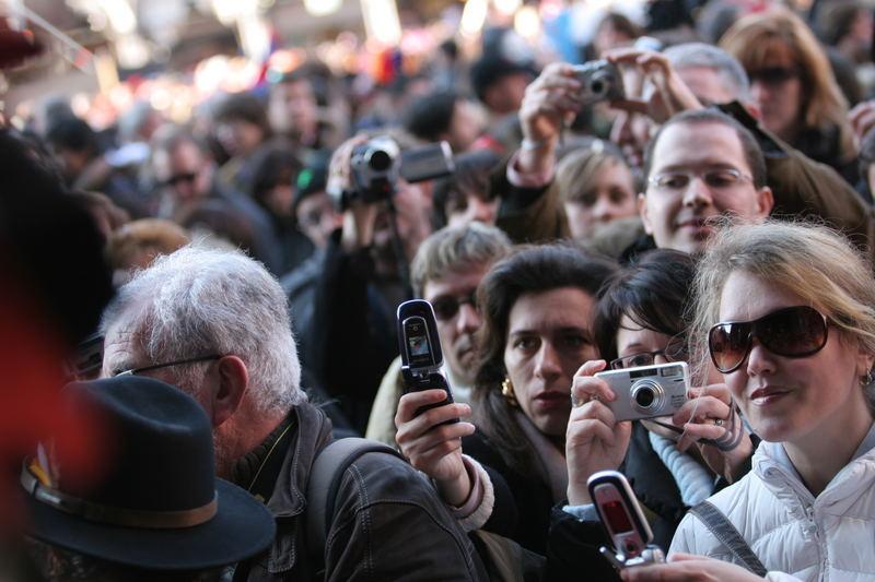 Fotoreporter al carnevale di Venezia