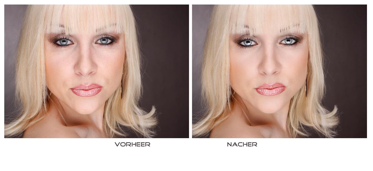 Fotoretusche Vorher-Nachher