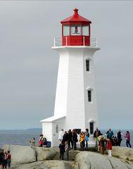 Fotos am Leuchtturm