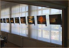 Fotos in einer Ausstellung
