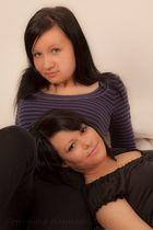 "Fotoshooting 20. Januar 2010 Modelle ""cold_wind"" MK und Tatjana"
