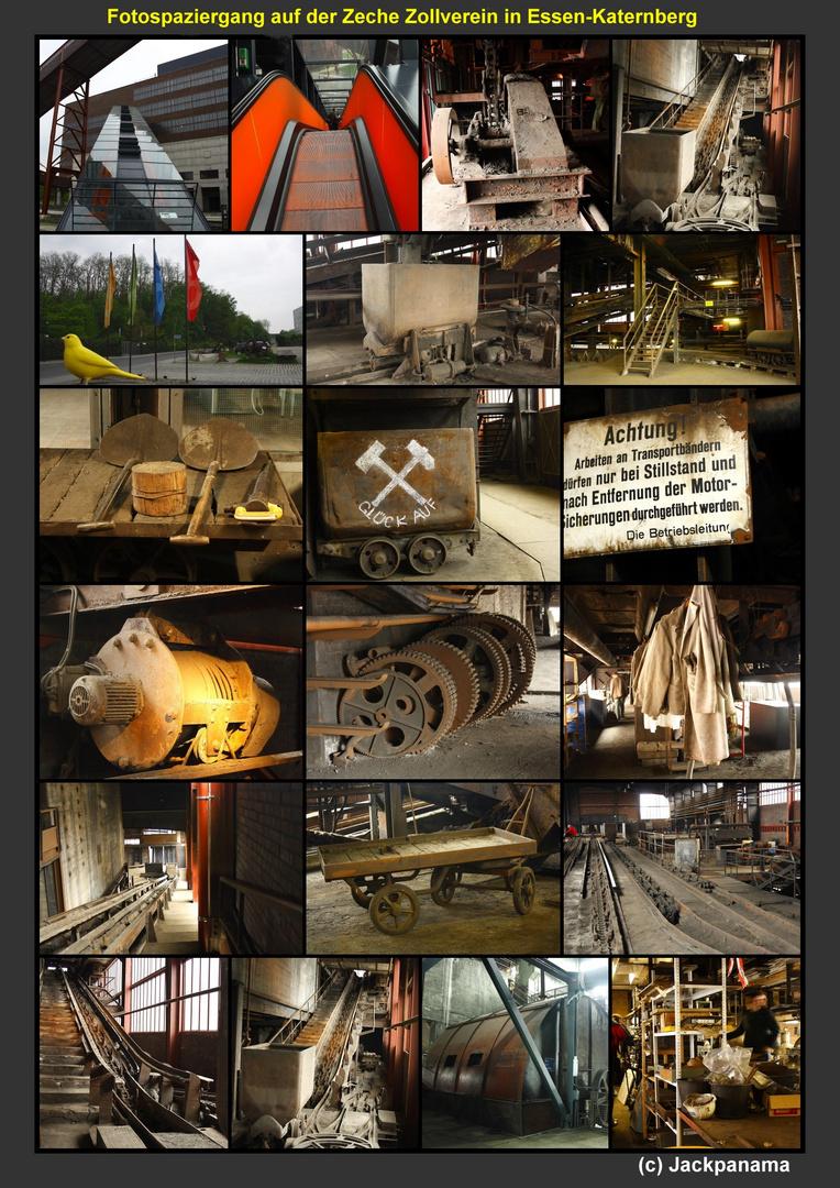 Fotospaziergang auf der Zeche Zollverein in Essen - Katernberg