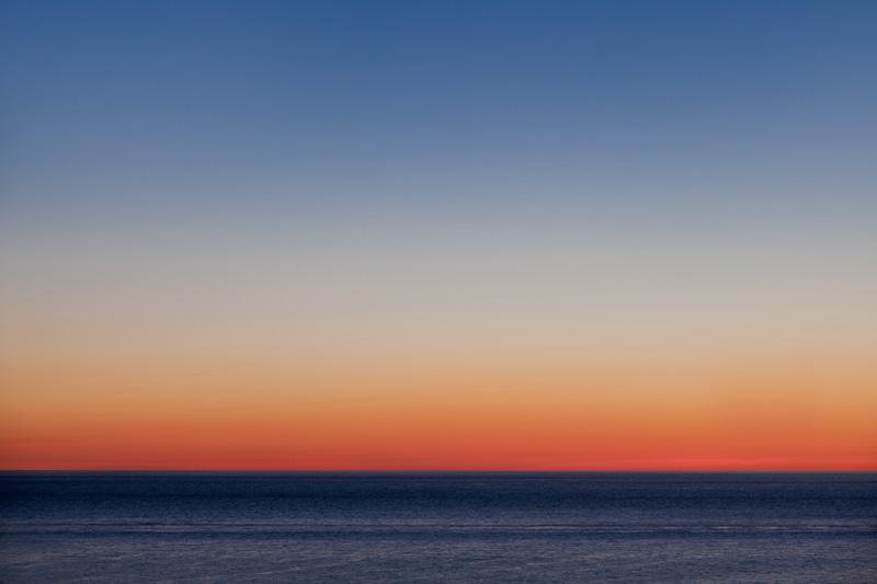 Fotoworkshop Helgoland - Dämmerung - Morgenröte über der Nordsee