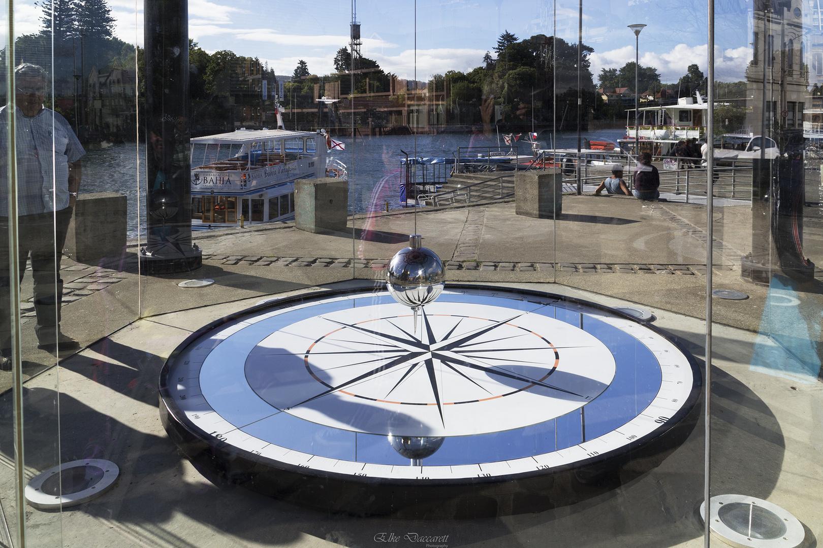 Foucaultsches Pendel in Valdivia, Chile