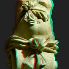 Fountain Figure [3D Anaglyph]