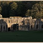 fountains abbey at sunset 14