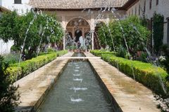 Fountains in Alhambra