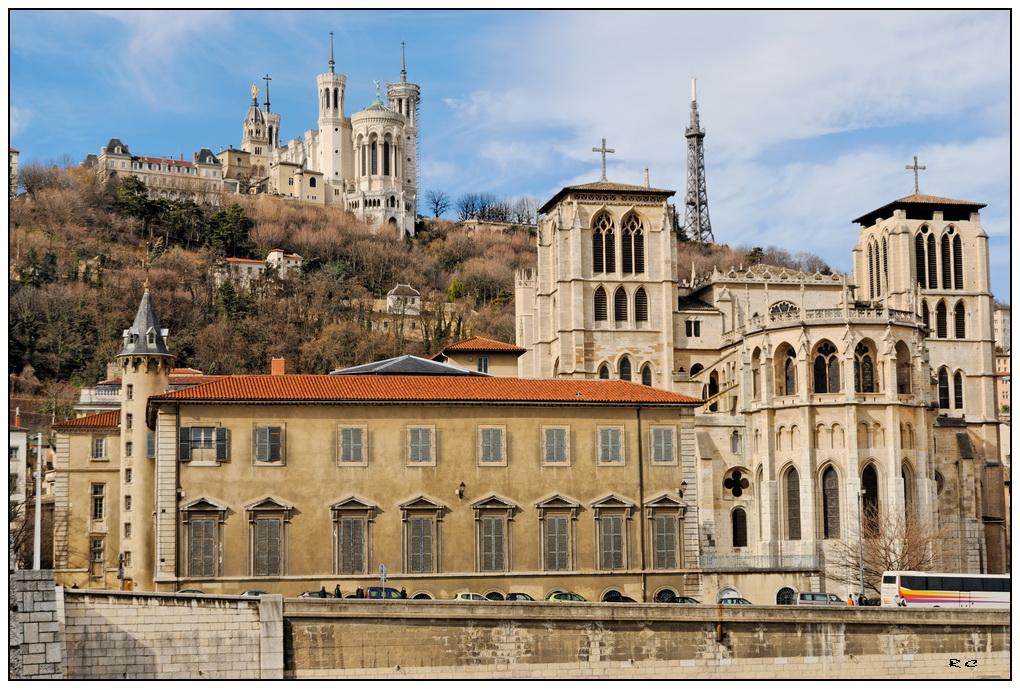 Fourvière et le vieux Lyon...